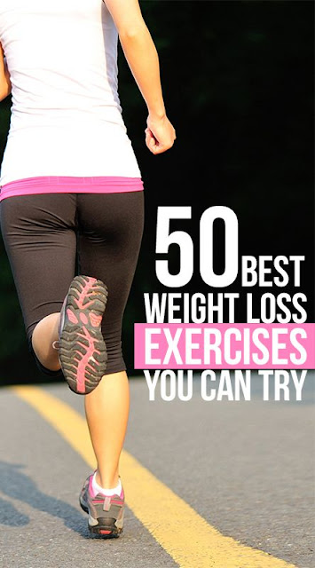50 Best Weight Loss Exercises you Can Try