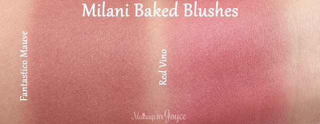 Milani Red Vino Fantastico Mauve Swatches