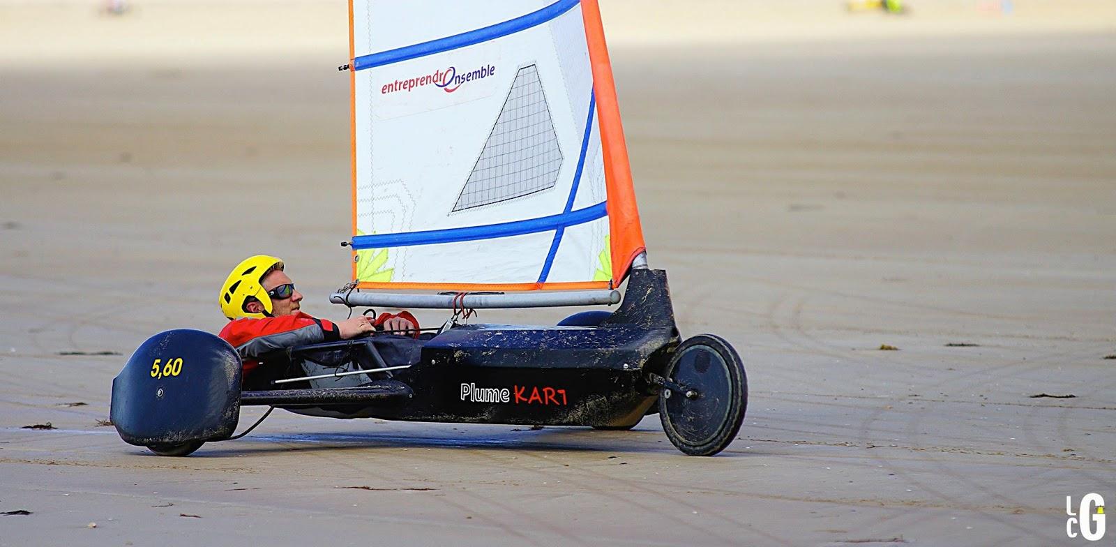 Glisse En Nord 41 Eric Houvenaghel Champion De France De Char A Voile Les Albatros Dunkerque