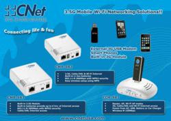 New Wireless-N Mobile Routers with Built-in Batteries and 3G Module