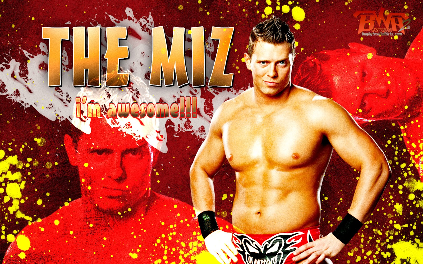 wwe the miz hd wallpapers 2012 wrestling all stars