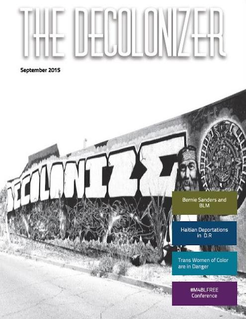 THE DECOLONIZER, September 2015
