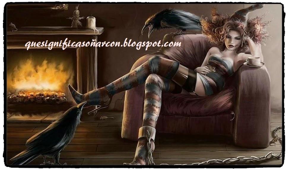 cual es el significado de soñar con brujos o brujas