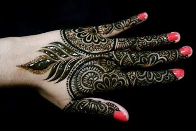 Arabic Thick Henna Designs