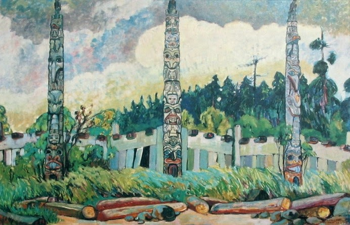 """Tanoo"" by Emily Carr"