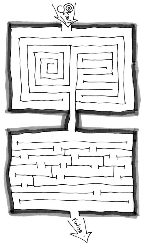 Kids Pizza Maze Free mazes
