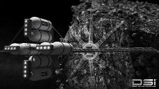 Harvestor,letjelica za vađenje rude iz asteroida