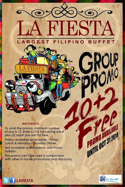 La Fiesta the Largest Filipino Buffet