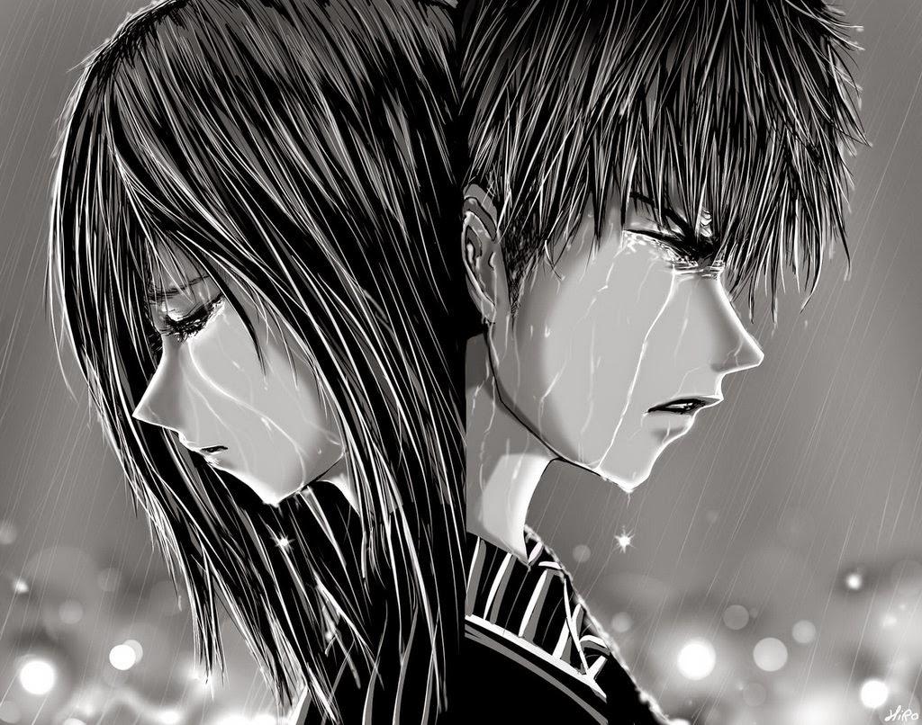 Anime Alone In The Rain | www.pixshark.com - Images ...