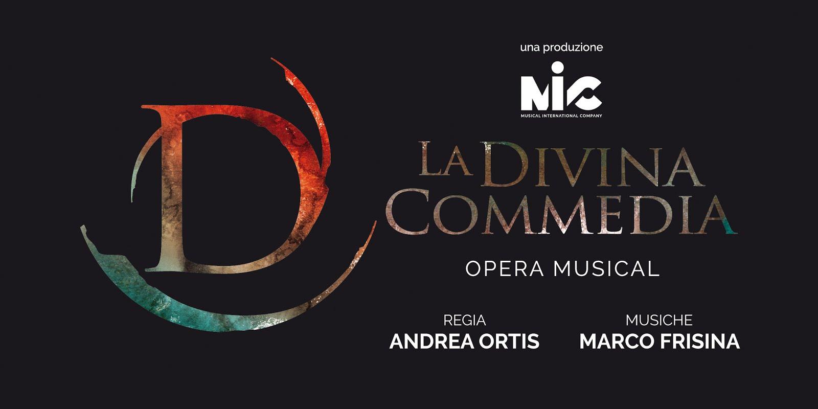 """LA DIVINA COMMEDIA OPERA MUSICAL"" regia di Andrea Ortis"