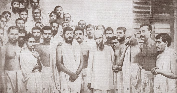 The Group of Disciples after Ramakrishna's funeral