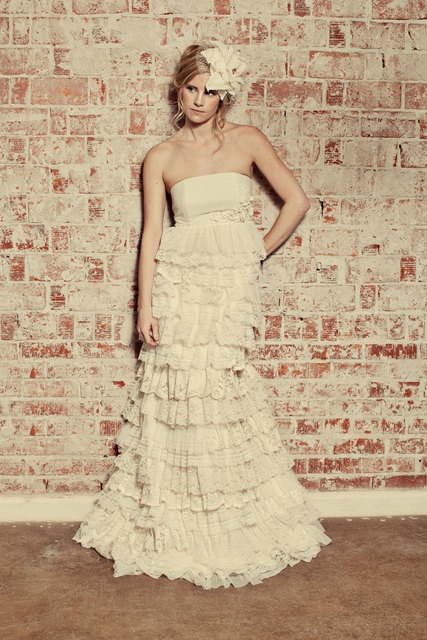The Flora Gown by Katie Walker ~ WEDDING DRESS