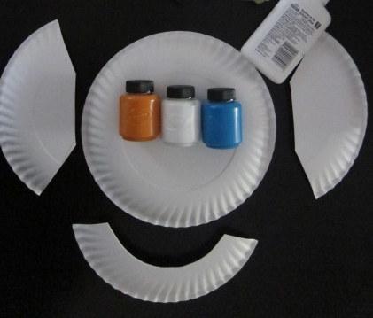 Paper plate elephant craft auto design tech