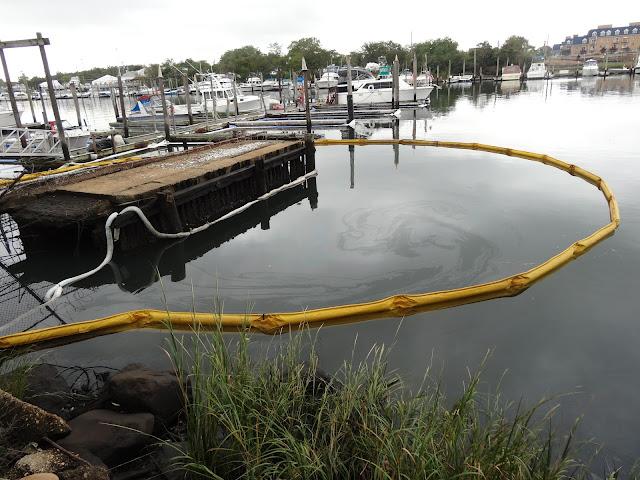 National Grid Shares Details Of Paerdegat Basin Oil Spill BKLYNER