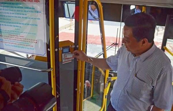 Vé xe buýt điện tử