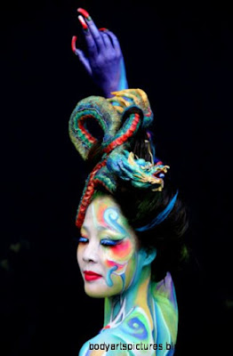 Body Paint This Fall39s Hottest Fashion Trend   Body Painting   Zimbio