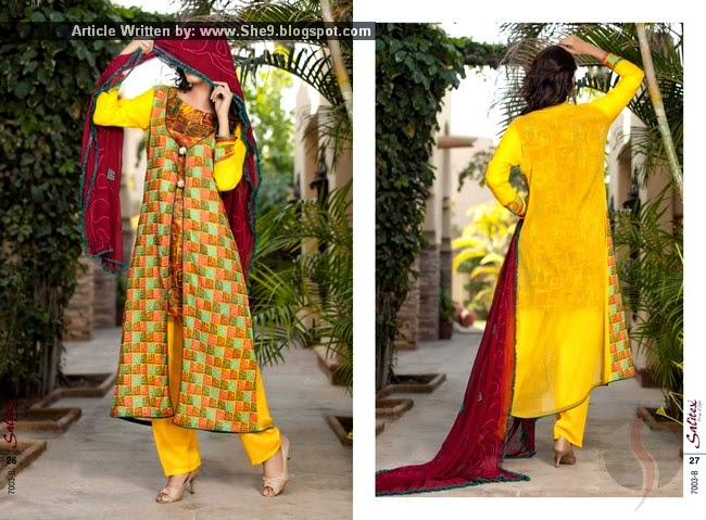 Chiffon Semi Stitched Collection 2015 Vol-3