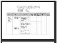 DOWNLOAD FILE ADMINISTRASI PEMBELAJARAN IPA KELAS IX SEMESTER 2