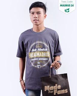 kaos distro bola rela madrid