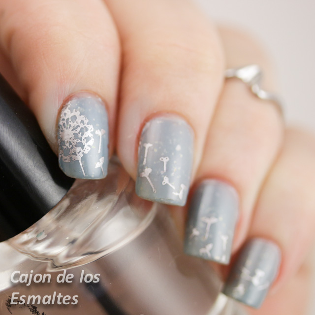 Stamping plate Pro Collection 04 - Moyou London - dance legend