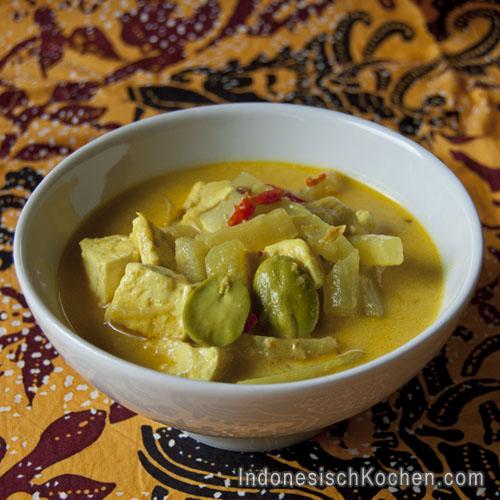 Kohlrabi mit Tofu rezept indonesisch