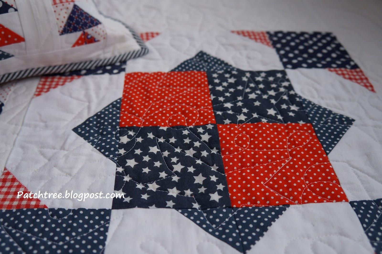 Комплект лоскутное одеяло