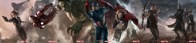 San Diego Comic-Con 2011 The Avengers Concept Art Character Movie Posters Banner - Avengers Assembled