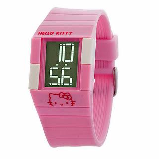 jual jam tangan hello kitty limited stock
