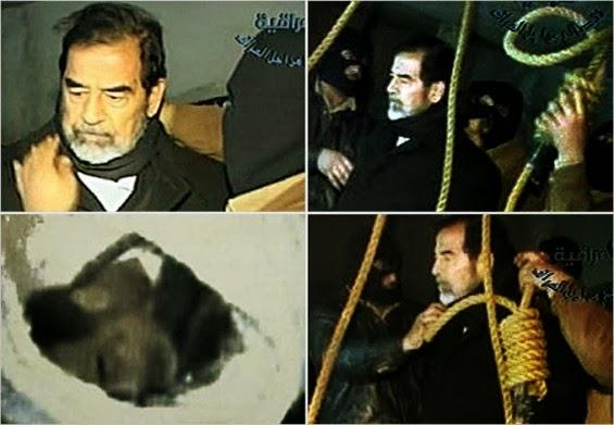 Tukang Gantung Cerita Detik Akhir Saddam Hussein di Tali Gantung