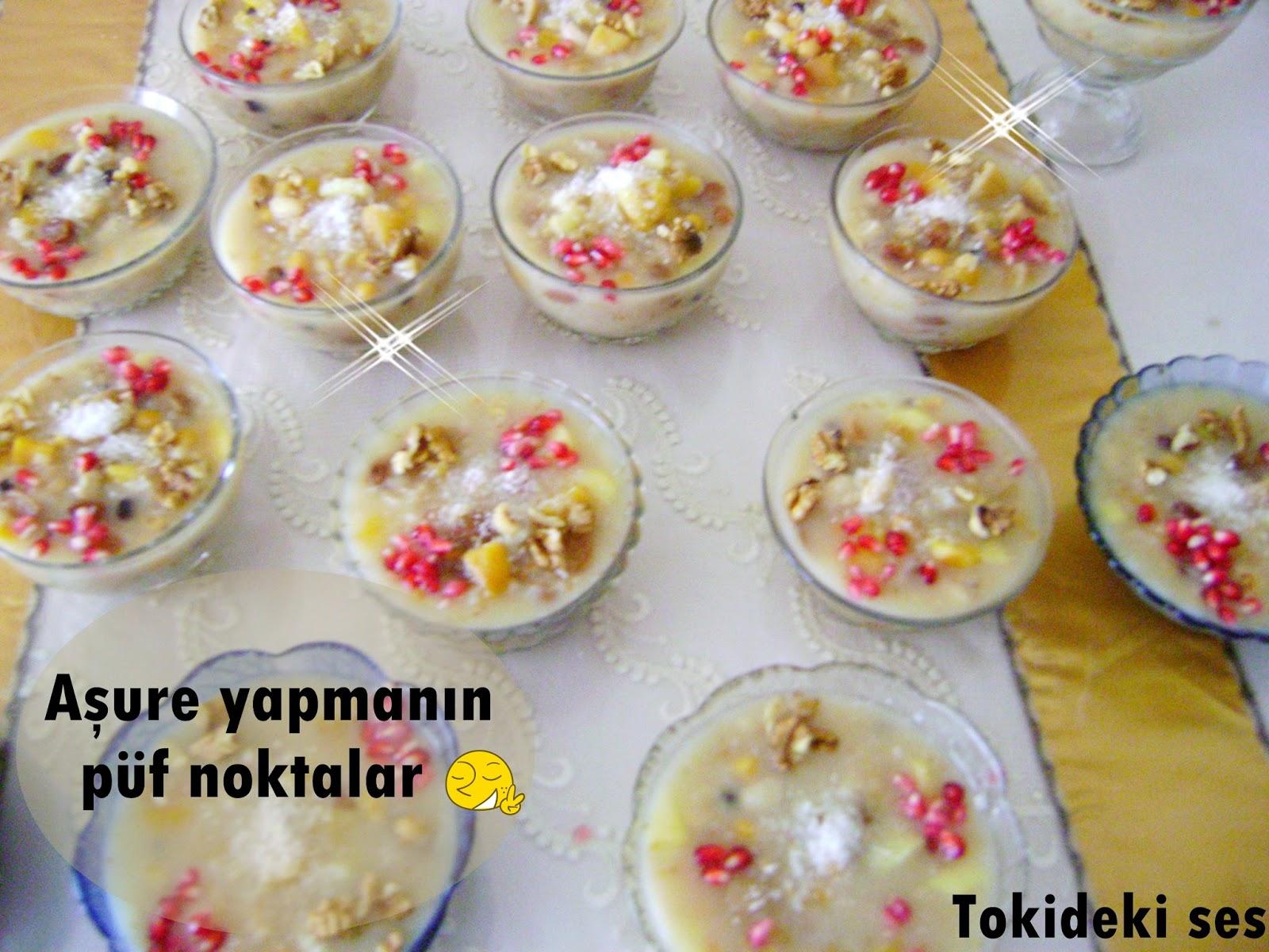 Aşure nasıl yapılır resimli tatlı tarifleri pratik tatlılar püf noktaları
