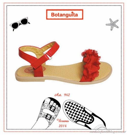 sandalias niñas botanguita verano 2014