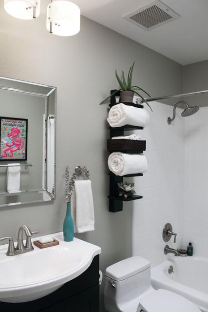 SIMPLES MAIS BELO! Mudanças rápidas e belas para nosso banheiro! -> Armario De Banheiro Joli