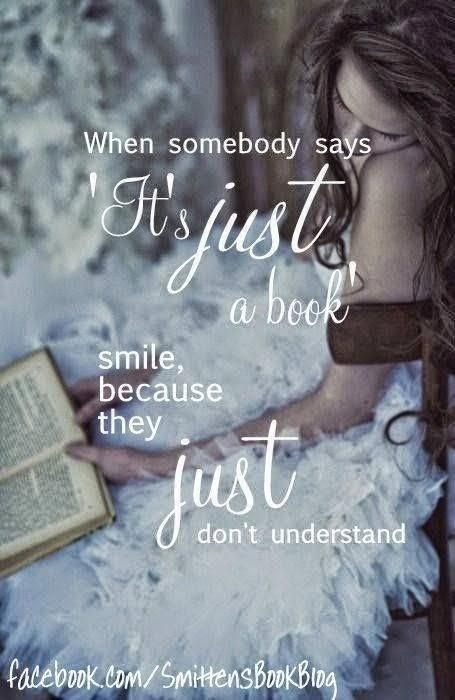 """Quan algú diu: """"només és un llibre"""" somriu perquè ells """"només no ho entenen"""""""
