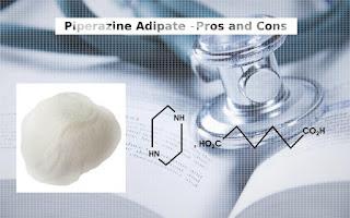 Piperazine Adipate Structure