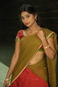Midhuna latest sizzling pics in half saree-thumbnail-20