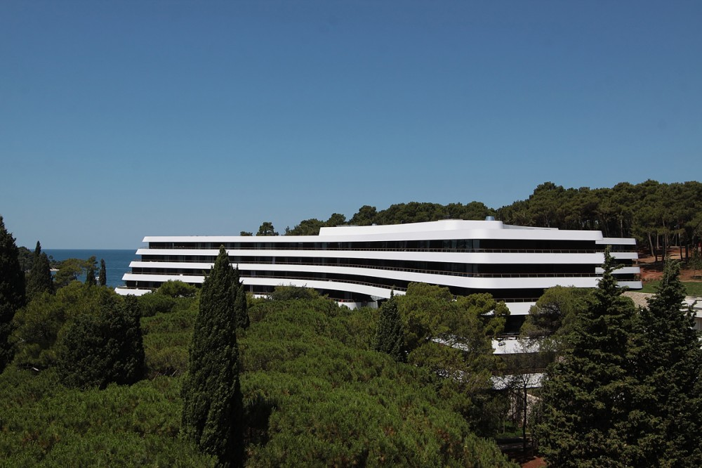 The best hotels in the world lone hotel rovinj croatia for Design hotel lone 5