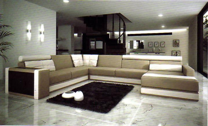Dise o y decoraci n de la casa muebles seccionales de for Disenos de muebles para living