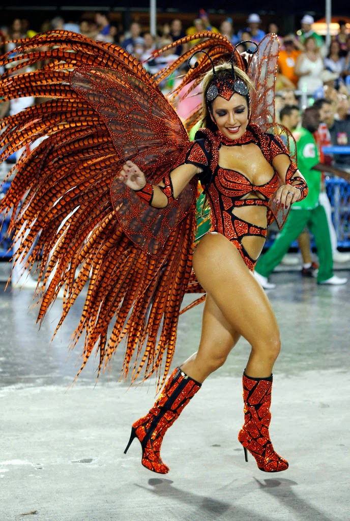 Rio Carnival 2014: Sexiest Brazilian Samba Dancers on Parade