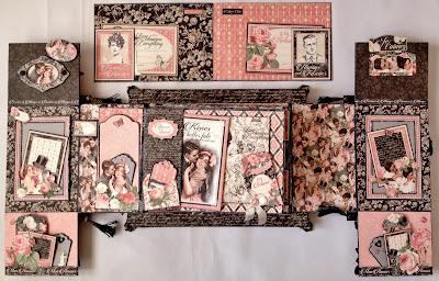 Annes Papercreations Boxed Accordion Pocket Mini Album