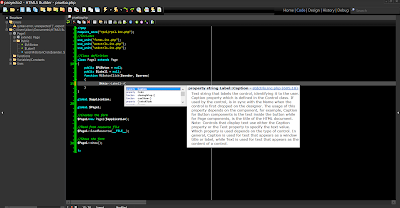 HTML5 Builder - Completado de Código (Code Completion)