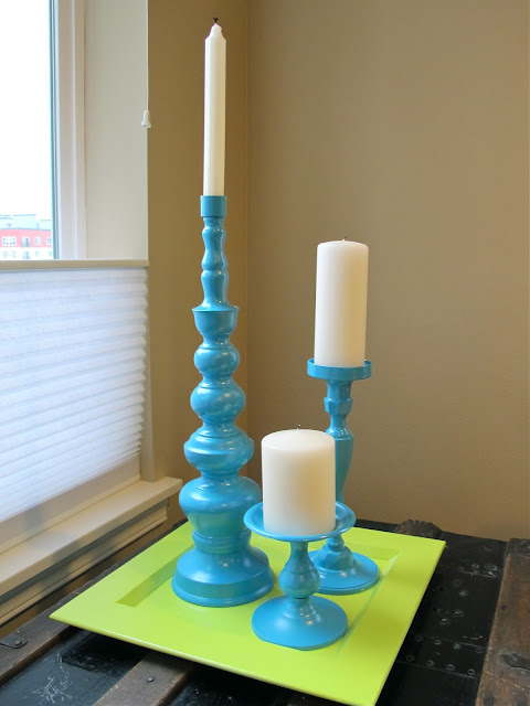 upcycled candle holders