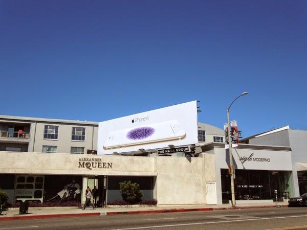 Apple iPhone 6 launch billboard