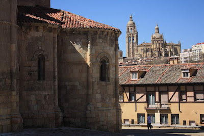 Cathedral and San Millán church in Segovia