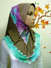 Tudung Ferina Denim