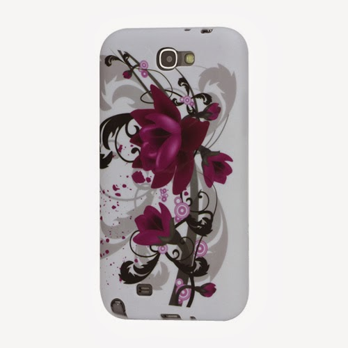 Lotus TPU Jelly Case for Samsung Galaxy Note 2 / II N7100