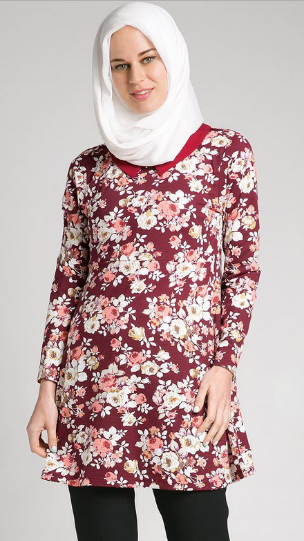 Model Baju Muslim Gemuk Masa Kini Desain Baju Muslim Untuk