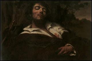 El hombre herido - Courbet