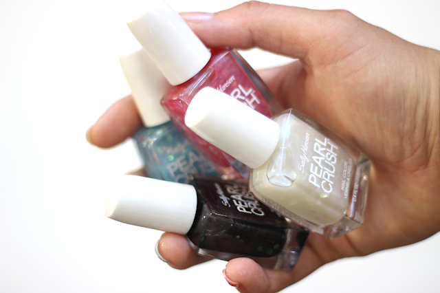 Sally Hansen Pearl Crush Nail Colors