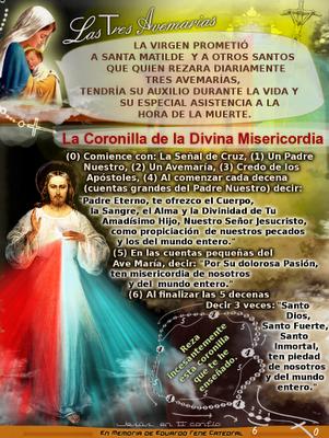 coonilla a la divina misericordia