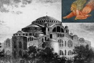 Όντεν εθεμελιώνασι οι άγγελοι την Πόλη (ριζίτικο Κρήτης)